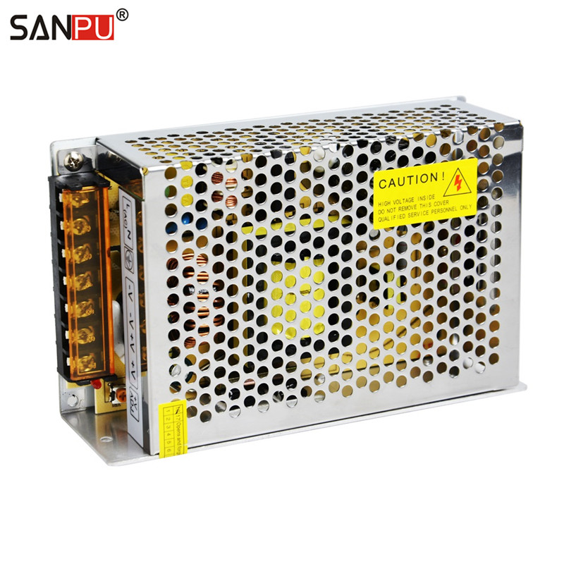 SANPU SMPS 12v 200w LED Switching Power Supply 16a Constant Voltage ...