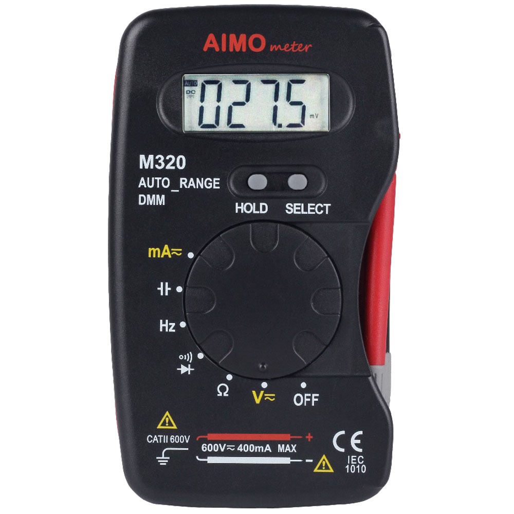AIMO M320 4000 Counts Auto Range Small Handheld Digital Multimeter DMM Frequency Capacitance current Resistance diode Measurer кабель hdmi 3 0м vcom telecom cg526s 3mr