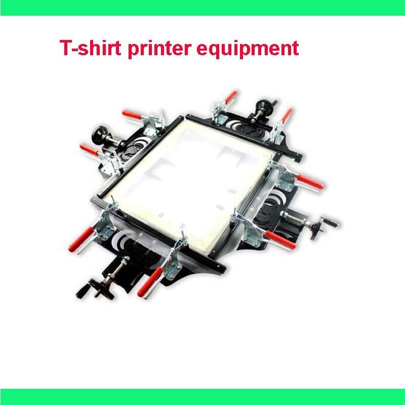 FAST Free shipping NEW Manual screen printing stretcher for silk screen printing T shirt printer equipment machine press