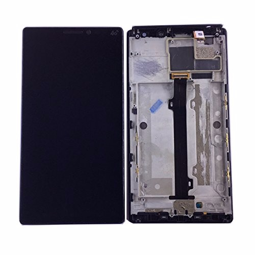 For Lenovo Vibe Z2 pro K920 LCD Display Touch Screen Digitizer Assembly With Frame 6 inch Replacement Parts top quality lcd screen display touch digitizer assembly with frame for htc one m9 phone repair parts white gold black