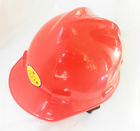 Free Shipping BOSI Construction Hard Hat Safety Helmet Red