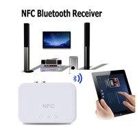 NFC Không Dây Bluetooth Receiver Âm Thanh 4.1 Xách Tay Bluetooth Adapter NFC-Kích Hoạt 3.5 mét RCA Nhạc Stereo Âm Thanh TV Xe loa