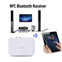 NFC Wireless Bluetooth Receiver Audio 4.1 Portable Bluetooth Adapter NFC-Enabled 3.5mm RCA Stereo Music Sound TV Car Speaker