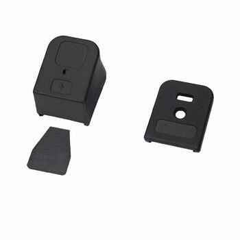 Yeni Glock Artı 3 Dergisi Taban Uzatma Alt Glock + 3 Dergisi Uzatma Glock 17 19 26 22 23 27 Siyah/Tan Ücretsiz Kargo