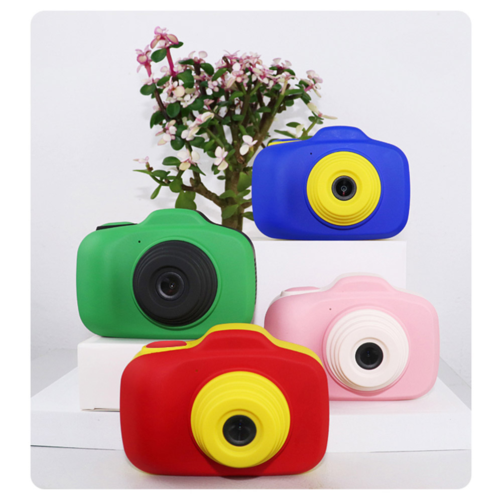 Toy Cameras Dual Lens Children's Digital Camera 2.3 Inch Hd Screen 1080p Home Photo, Video, Continuous Shooting, Self Timer Kid