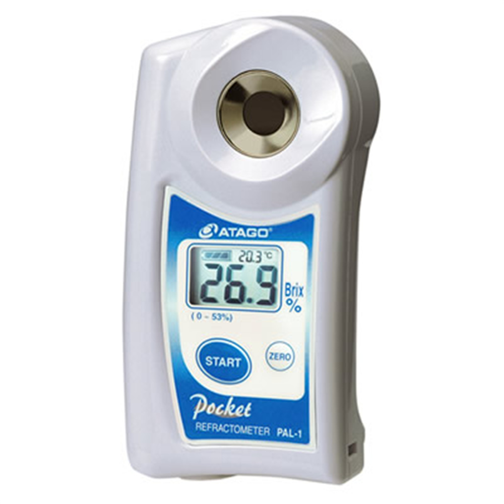 Japan Atago Pocket Refractometer PAL-1 Brix 0-53% Digital Hand Held free shipment for EMS цены