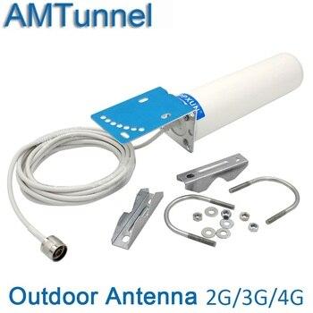 4g antena 4g ao ar livre antena 3g 12dBi 4g antena externa ao ar livre GSM antena com N macho ou SMA macho para repetidor do impulsionador