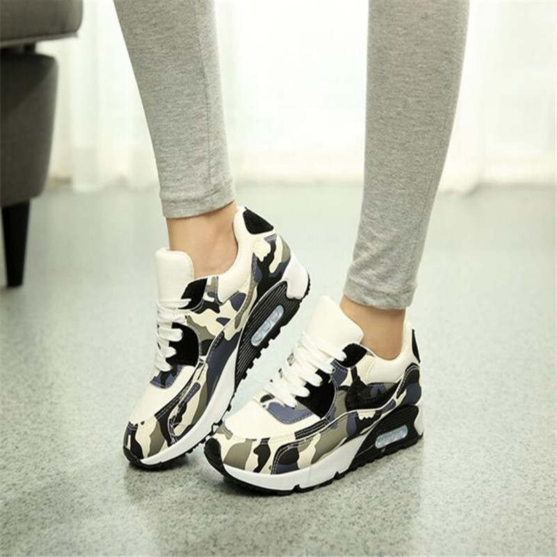 pop women casual shoes camouflage mesh shoes tenis Trainers baskets thick soled flat shoes zapatillas deportivas mujer AK071223 pop women outdoor mesh casual shoes lace up trainers rhinestone flat shoes platform walking shoes zapatillas deportivas xk082912