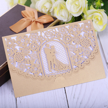 Eleva Romantic mr mrs wedding invitation cards  2018,creative Lace style stickers place name set