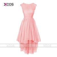 2015 Prom Dress Elegant One Shoulder Beading Crystal Silk Chiffon Pink Lilac Blue Formal Evening Prom