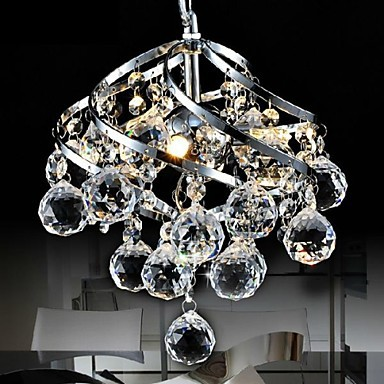 E27 LED Modern Crystal Pendant Lights For Dinning Living Room Hanging Lamp Lustres e Pendentes ,Lustre De Cristal Free Shipping modern led crystal chandelier lights living room bedroom lamps cristal lustre chandeliers lighting pendant hanging wpl222