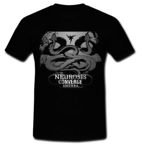 Neurosis Converge Amenra avant-garde metal band T-shirt Tee Size S M L XL 2XLPrint T shirts O neck Short Sleeves ...