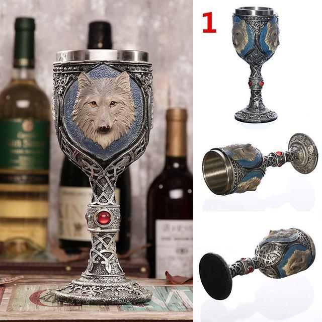 SKULL WINE CUP (9 VARIAN)