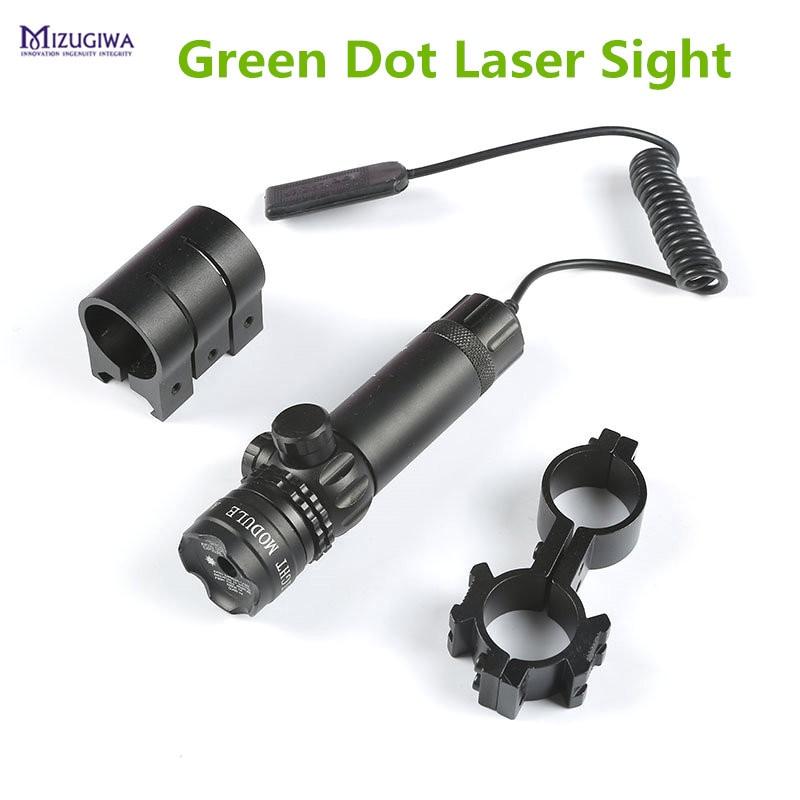 тактические зеленый лазер