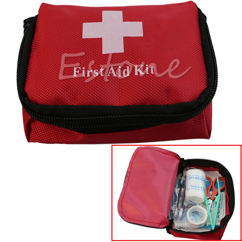Storage Boxes & Bins Obliging Vogue Emergency Medical Bag First Aid Kit Pack Travel Survival Treat Rescue Mdau