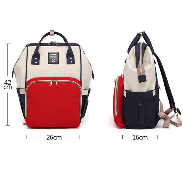 e2402d8a2a5b US $35.98 |New baby diaper backpack Large Capacity baby nappy bag Newborn  Oxford Nursing Wet Changing Bag For Maternity Travel Backpack-in Diaper  Bags ...