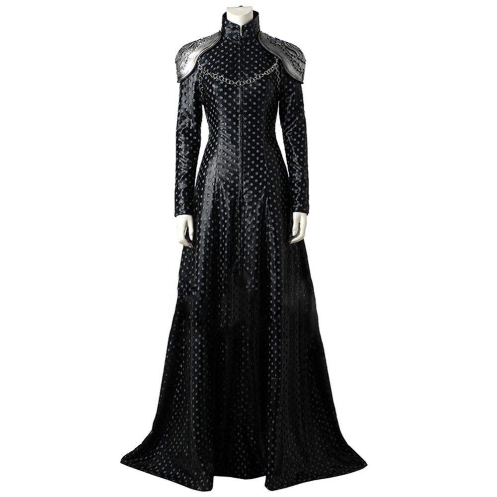 Game of Thrones 7 GOT Cersei Lannister Cosplay Costume Full Set