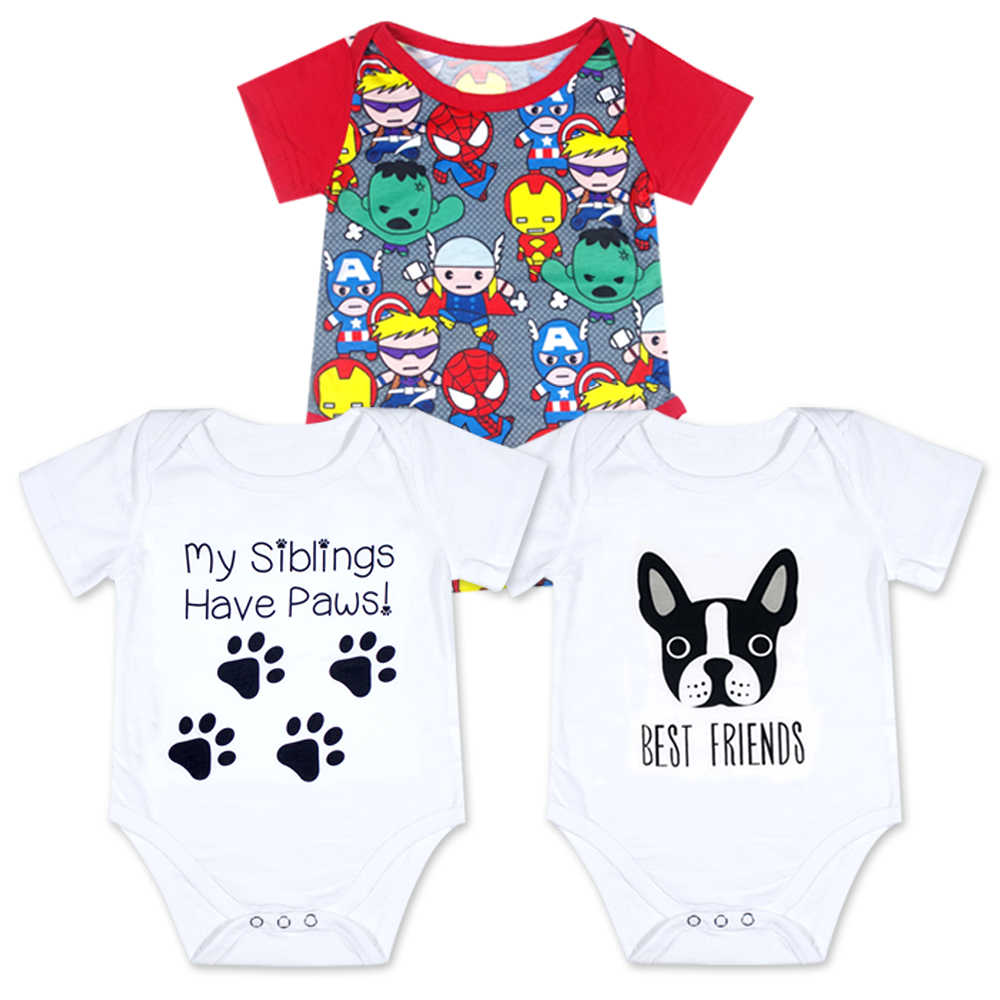 55202462b323 ... 2018 Baby Boy Girl Clothes My Auntie Loves Me Bodysuit Tiny Cottons  Summer Short Sleeve Cute ...