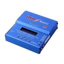 80 Вт строить-Мощность IMAX B6AC RC Баланс Батарея Зарядное устройство NiCd литиевых Батарея баланс Зарядное устройство разрядник с цифровой ЖК-дисплей Экран