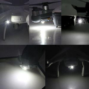 Image 4 - 1 ensemble Flash lampe stroboscopique nuit feux de vol pour DJI Mavic Air/Pro Spark Phantom Drone accessoires Kit