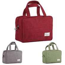 New Cosmetic Bag Large Capacity Travel Case Toiletry Makeup Brushes Cream Tools Storage Organizer Handbag K5BO