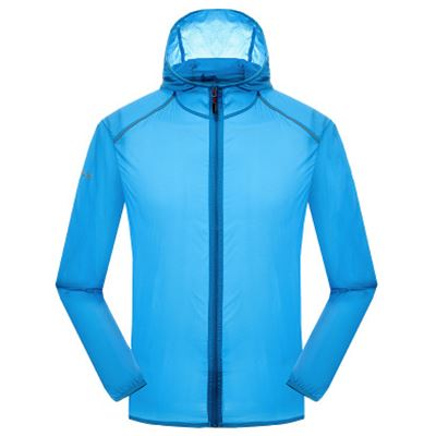Spring summer thin trench coat prevented bask clothes for men women jackets windbreaker outdoor sports super light Quick drying