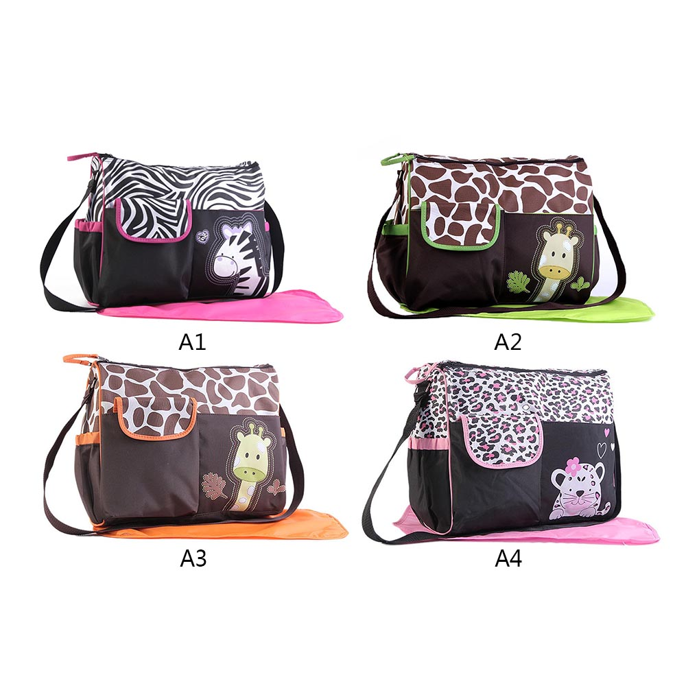 Fashion Baby Diaper Changing Bags For Mom Handbags For Moms Multi Function Large Capacity Totes Baby Bags Kids Mom
