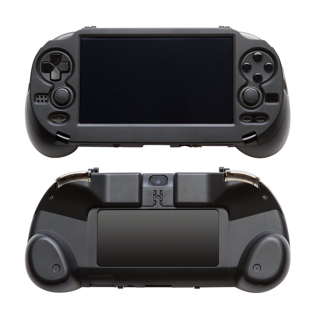 Dealonow Hand Grip Handle Joypad Stand Case with L2 R2 Trigger Button For PSV1000 PSV 1000 PS VITA 1000 Game Console все цены
