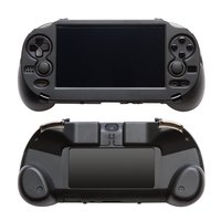 Dealonow Hand Grip Handle Joypad Stand Case with L2 R2 Trigger Button For PSV1000 PSV 1000 PS VITA 1000 Game Console