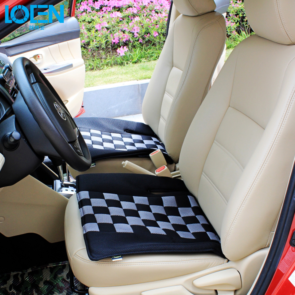 Aliexpress Buy Quality Breathable Mesh Winter Car Seat Cushion Chair Pad Memory Foam Cover Universal Supplies For Bmw W5w Ford From