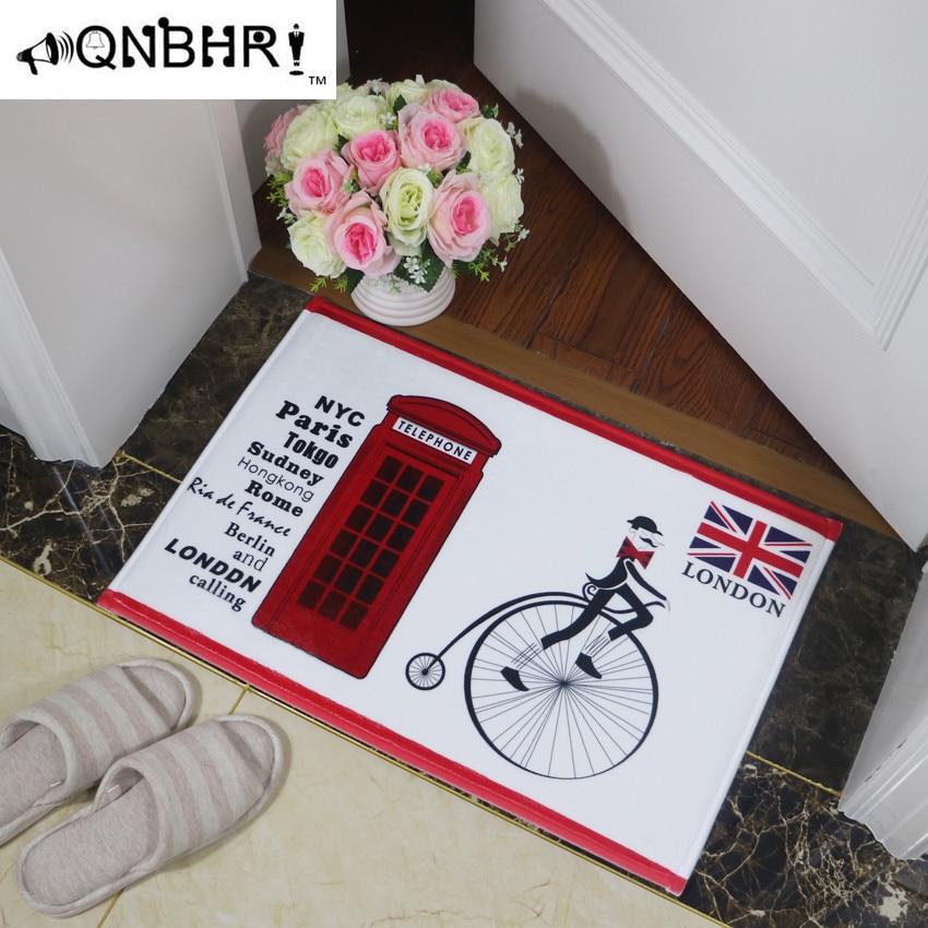 40cm*60cm England guard bus series soldier household carpet floor mat bibulous non-slip MATS UK British royal style ancients Солдат