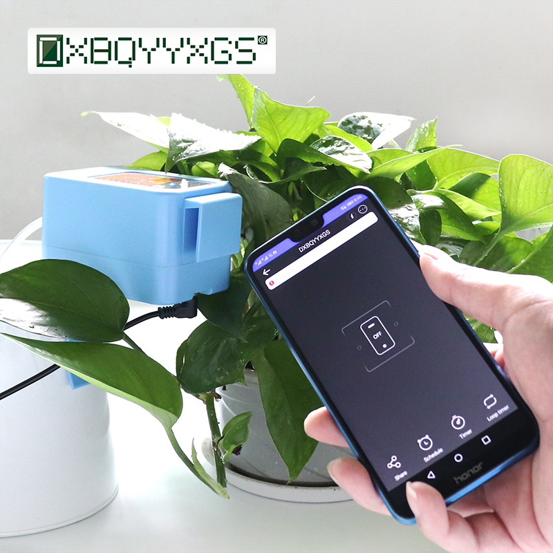2019 Wifi Automatic watering device garden watering system Intelligent timer water Drip irrigation Mobile phone remote