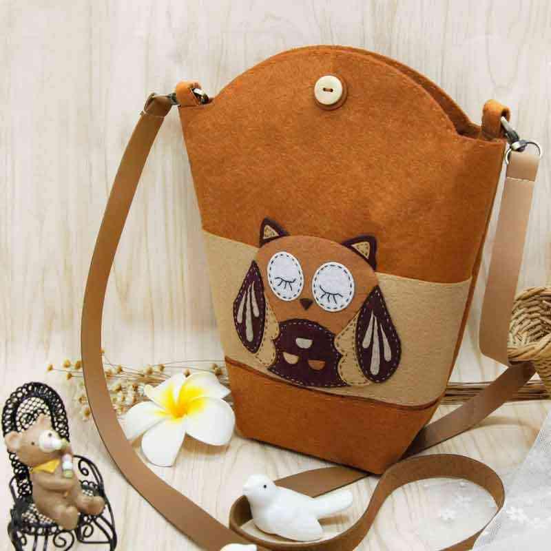 6 стилей специальный детский мультфильм школьная сумочка ручной работы шитье Бесплатная резка Войлок diy пакет детский войлок Сумка