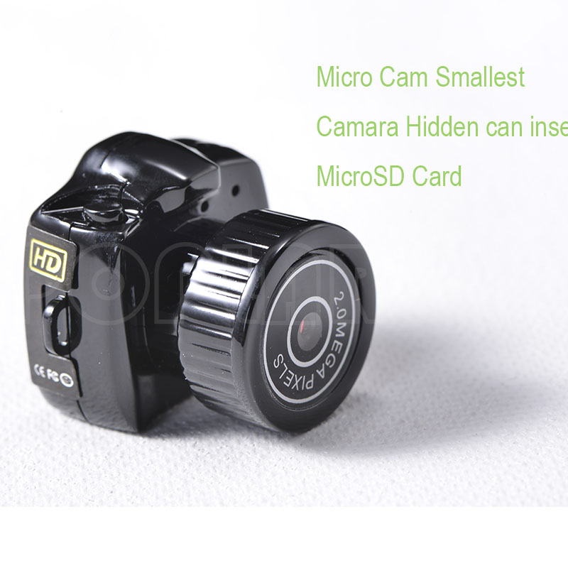 Mini Camera Y2000 480P HD Webcam Video Voice Recorder Micro Cam Smallest Camara DV Espia Digital Web Cam Free Shipping