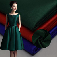 High Quality Cheap Dyed Woven Heavy Weight 100 Polyester Matt Satin Fabric