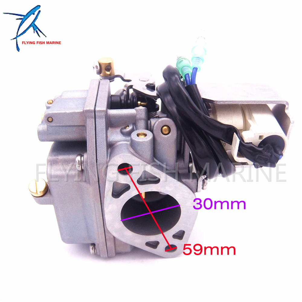 Image 5 - Outboard Engine Carburetor Assy 6AH 14301 00 6AH 14301 01 for Yamaha 4 stroke F20 Boat Motor Free Shipping-in Boat Engine from Automobiles & Motorcycles