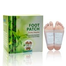 50 шт. декомпрессионная бамбуковая уксусная пластырь для ног с лентой для здоровья ног Китайский традиционный медицинский пластырь удаляет грязь и расслабляет