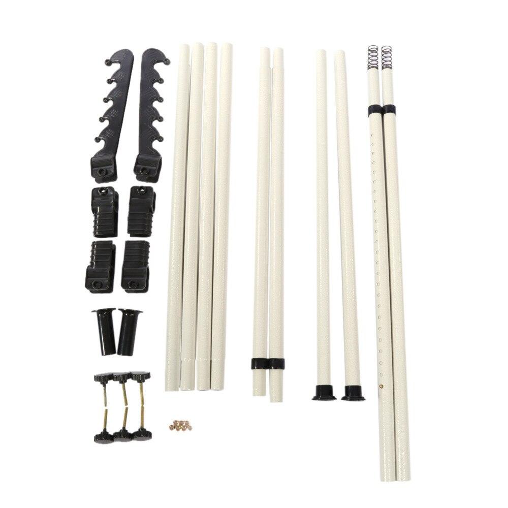 ... Retractable Hanger Clothes Extension For Closet Movable Garment Rack  DIY Coat Hanger Clothes Wardrobe Space Saver ...