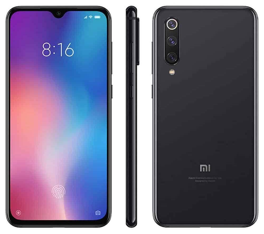 Legend Coupon Xiaomi-Mi-9-BE-Global-Version-Black-Color-Dual-SIM-128-GB-rom-6-hard-GB Smart phone