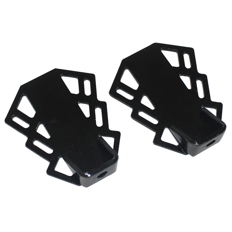 Quick release Bicycle Pedals Front Rear Axle Foot Pegs BMX Footrest Bike