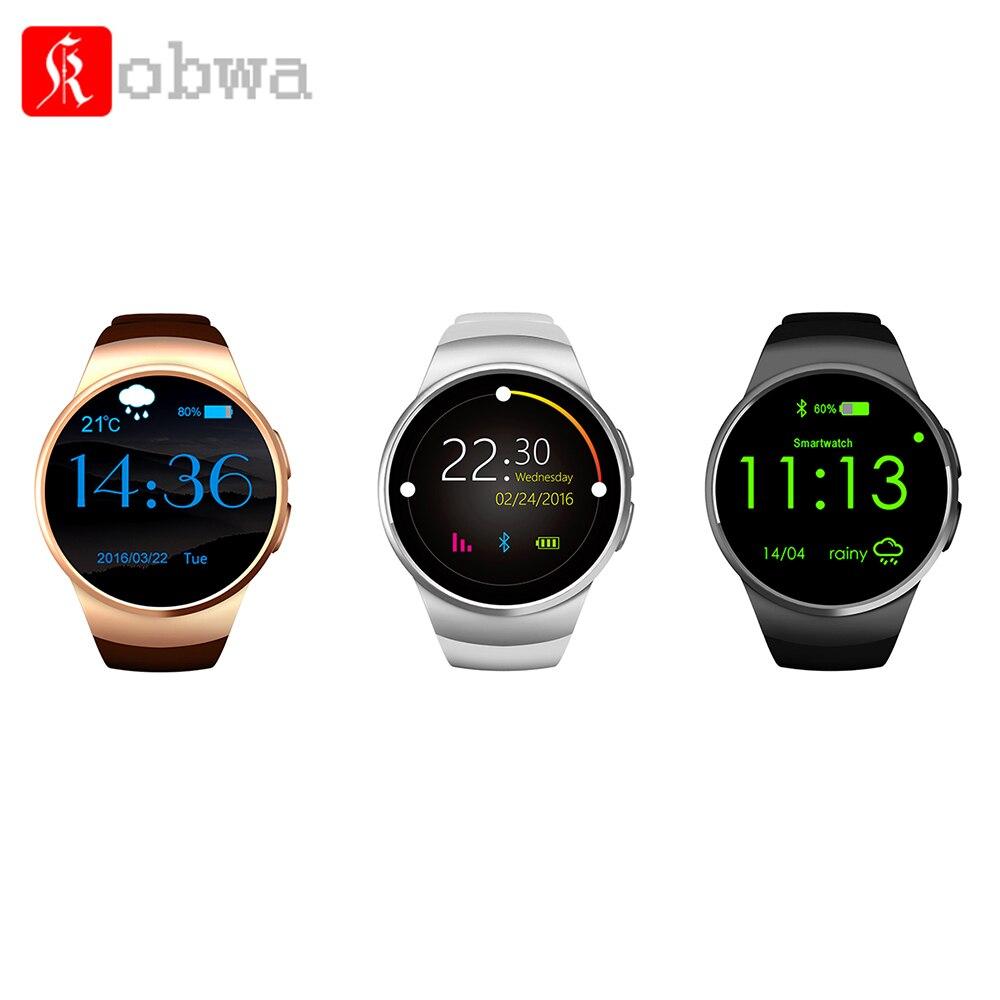 KW18 tout-en-1 Bluetooth montre intelligente téléphones Sim poignet montres intelligentes pour IOS/Android Smartphones prennent en charge la carte SIM TF