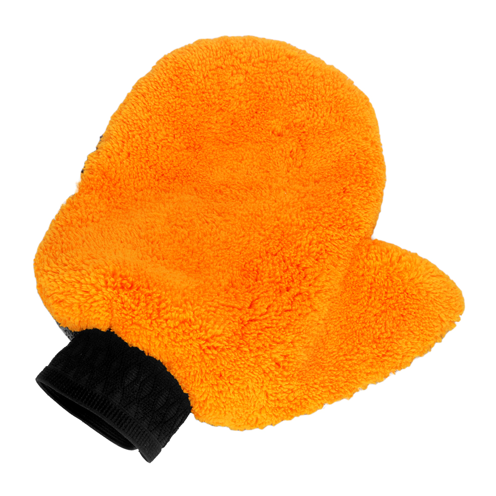 Soft Auto Care Washing Gloves Microfiber Car Accessories Washer Plush Water Absorption Car-styling Cleaning