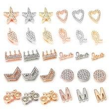 TOGORY, модные хрустальные подвески в виде короны, блестящие браслеты, подходят для 10 мм, DIY Pandora, сетчатые браслеты, браслеты, ювелирные изделия, как для женщин, подарки
