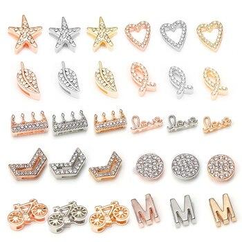TOGORY 2019 Fashion Crown Crystal Charms Shining Bracelets Fits 10 mm DIY Pandora Mesh Bracelets Bangles Jewelry as Women Gifts