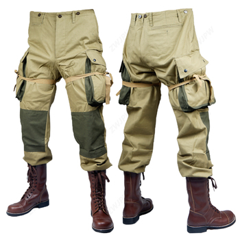 WWII WW2 US Army M42 Uniform m42 101 Air Force Paratroopers Troops pants Tactical Outdoor Pants US/501101