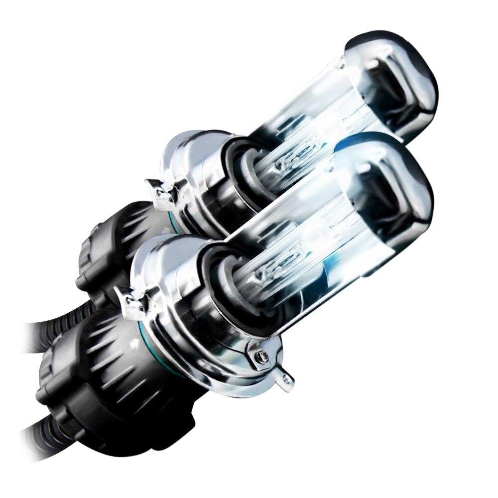 2 pièces bi xenon H4 lampe HID voiture phare remplacement ampoules H4-3 BiXenon Hi/Lo faisceau lumière 4300 k 5000 k 6000 k 8000 K 10000 k 12000 k k