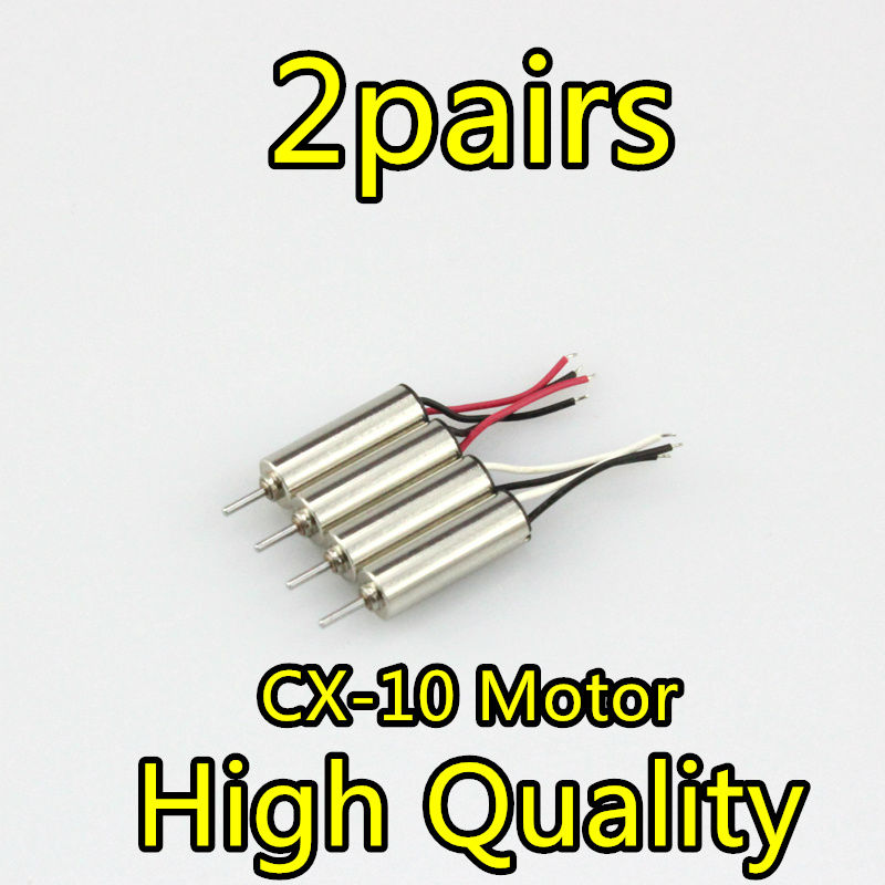 Cheerson CX-10 CX10 CX-10 CX-10A V646 V676RC Part CW/CCW Motor for Cheerson CX-10 Hubsan H111 RC motor parts free shipping oem brushless motor rc quadcopter cw ccw parts without silver black cap for cheerson quadcopter cx20 cx 20