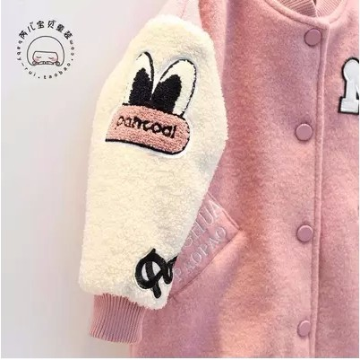 Children-s-clothing-2016-winter-new-berber-fleece-medium-long-cotton-padded-girls-Outerwear-child-embroidery (4)