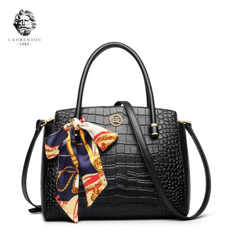 LAORENTOU 2018 new leather shoulder bag casual messenger bag tide handbag fashion handbag simple ladies bag велосипед smart city lady 2014