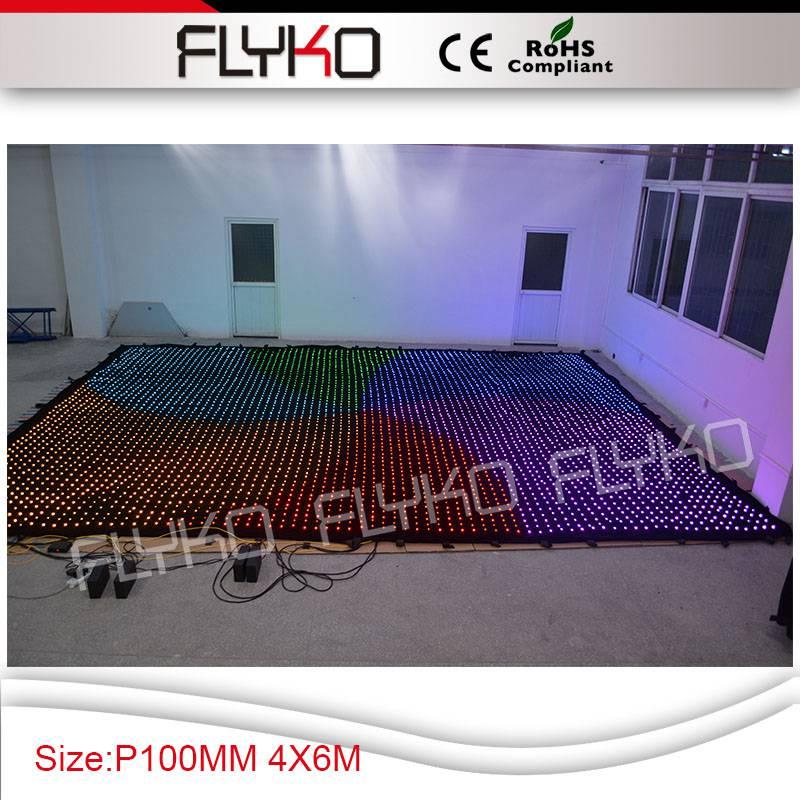 flykostage P100MM SDcard DMX512 цифровой контроллер светодиодный экран